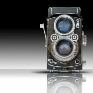 appareil photo double objectif