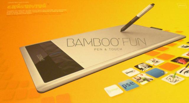 tablette Bamboo Wacom