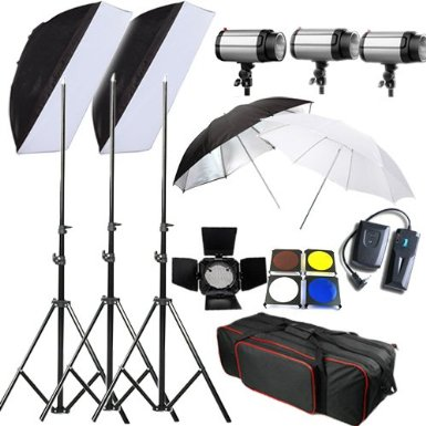 Un kit flash studio photo pas cher pour commencer